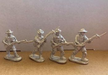 AMF03: 28mm WWII Australian Rifles 3