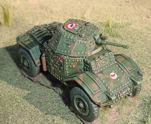 AGN 28mm Panhard P178 Armoured Car