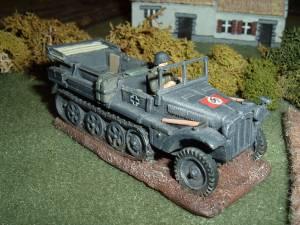 AGN 28mm Sdkfz 10 1-ton hauler