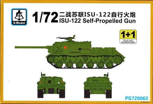 1/72 S-Model ISU-122
