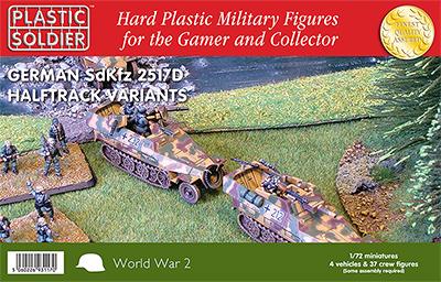 1/72nd Easy Assembly 251/D Haltrack Variants