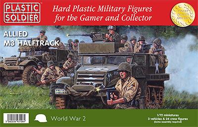 Easy Build USA Allied M3 Halftrack