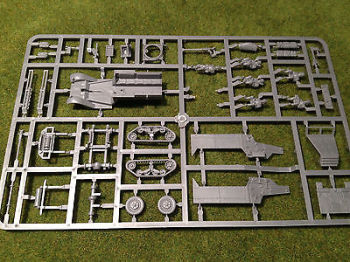 Reinforcements: 20mm PSC Allied M3 Halftrack complete Single Sprue