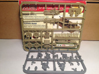 Reinforcements: 20mm PSC Russian ZiS 2/3 Gun Single Sprue