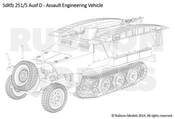 Rubicon Models - SdKfz 251 Ausf. D (3-in-1)
