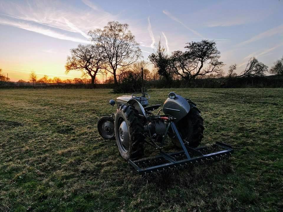 springtine harrow tractor