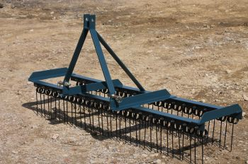 AGRI-FABS 2 BAR, 3 POINT LINKAGE SPRING TINE HARROW