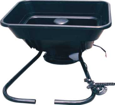 12v Atv mounted spreader