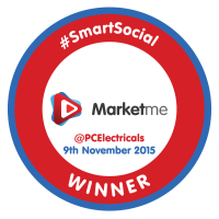 PCElectricals SmartSocial Badge - Circle