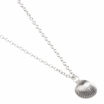Large Cockle Shell Pendant -