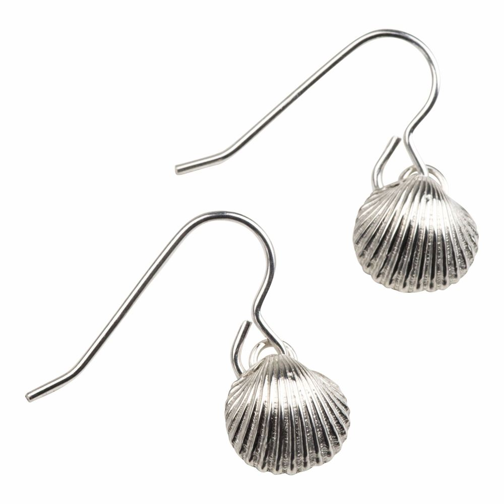 Cockle Shell Earrings - Medium