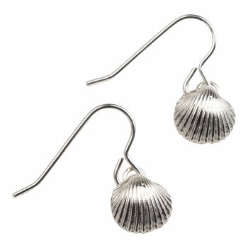 Medium Cockle Shell Earrings