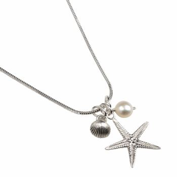 Beach Cluster Necklace - available in Sterling Silver or 9ct Gold