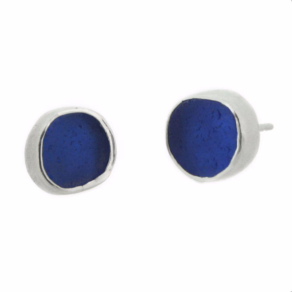 Rare Sea Glass Ear Studs