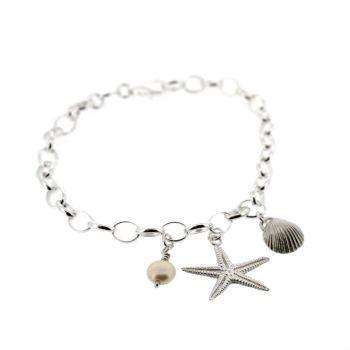 Beach Cluster Bracelet