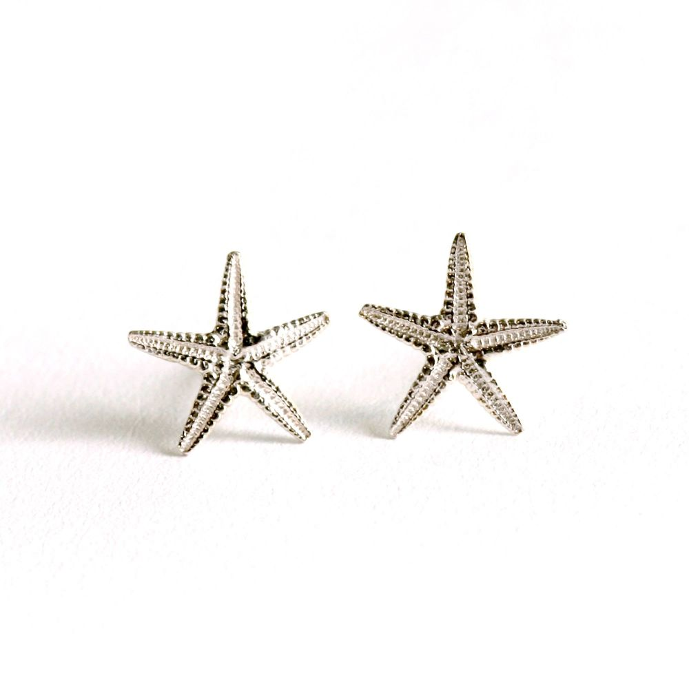 Medium Starfish Ear Studs