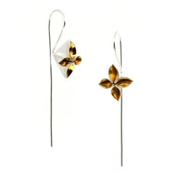 Blossom Stem Earrings