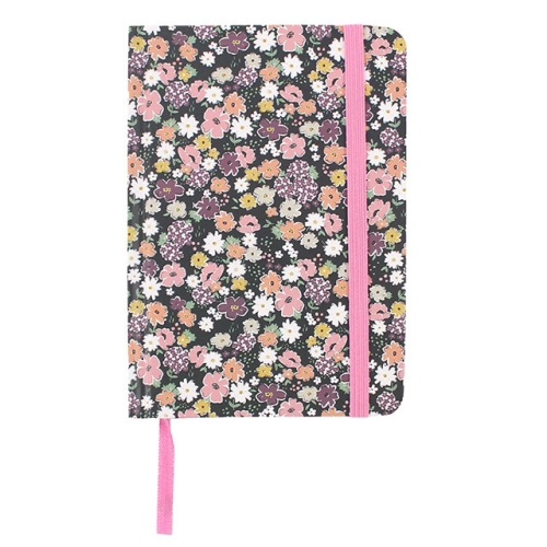 Small floral a6 notebook