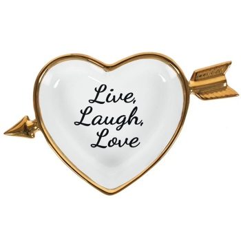 Live Laugh Love Jewellery Dish