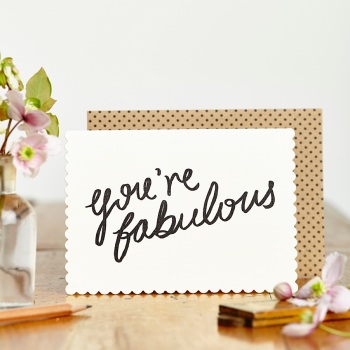 You're Fabulous Card