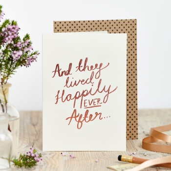 And They All Lived Happily Ever After Card