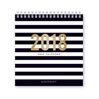 Alice Scott Desk Calender 2018