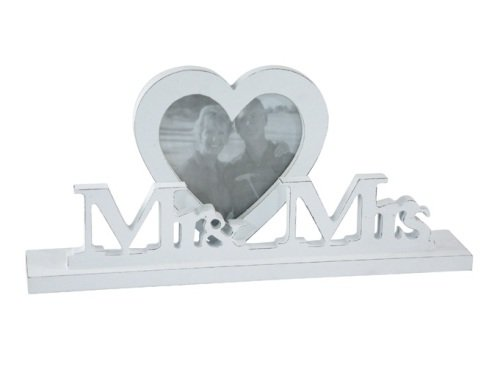 Shabby Chic design Mr & Mrs Photo Frame