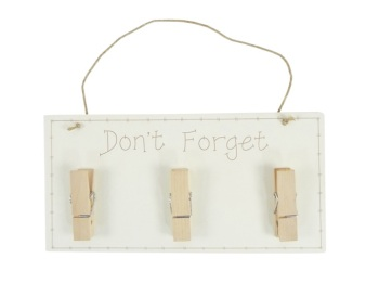 "Shabby Chic ""Don't Forget"" Memo Board"
