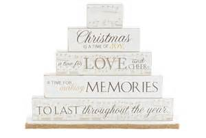 Christmas Is A Time Of Joy Mantel Block