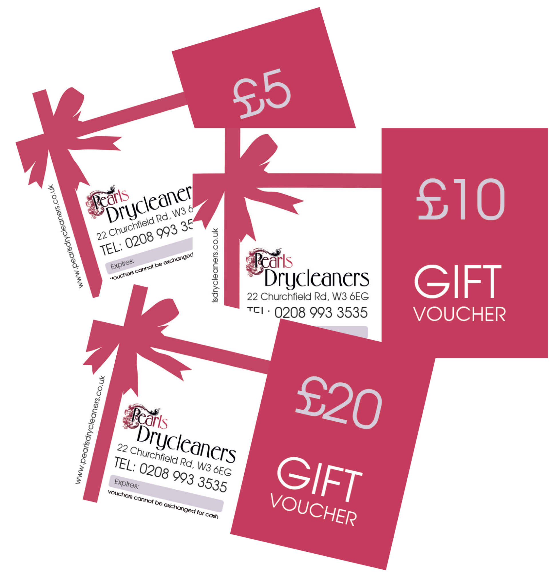 Drycleaning Vouchers