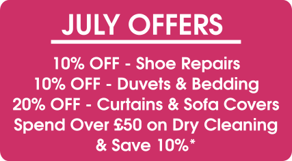 July Offers - Pearls Drycleaners, Acton,