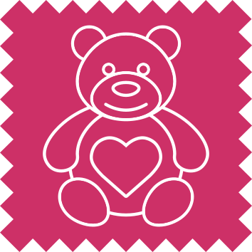 Teddy Bear Icon - Pearls Drycleaners