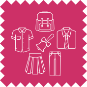 School Uniform Service at Pearls Drycleaners