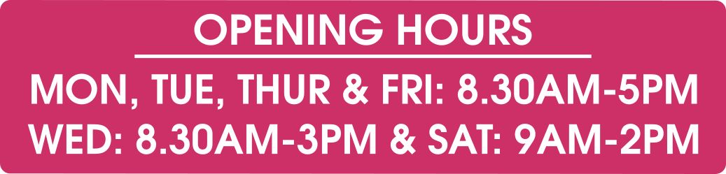 September Opening Hours - Pearls Drycleaners