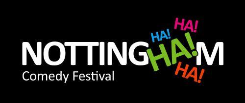 nottingham comedy festival logo - no year