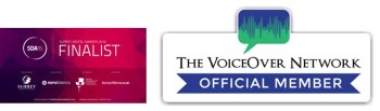 Finalist in Digital awards 2016 & Voice over network member