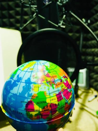 Lorraine Ansell World Dubbing Voiceover Microphone