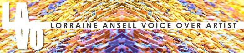 LORRAINE ANSELL VOICE ART, site logo.