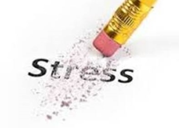 Pencil rubber Stress