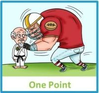 Lite - One Point box graphic
