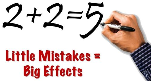 Blog Post - Effect of Mistakes