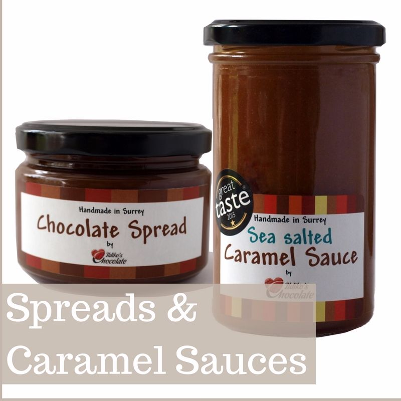 <!--004-->SPREADS & CARAMEL SAUCES