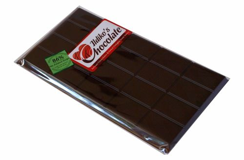 <!--011-->Extremley Dark Chocolate (86% Cocoa Solids and No Added Sugar)