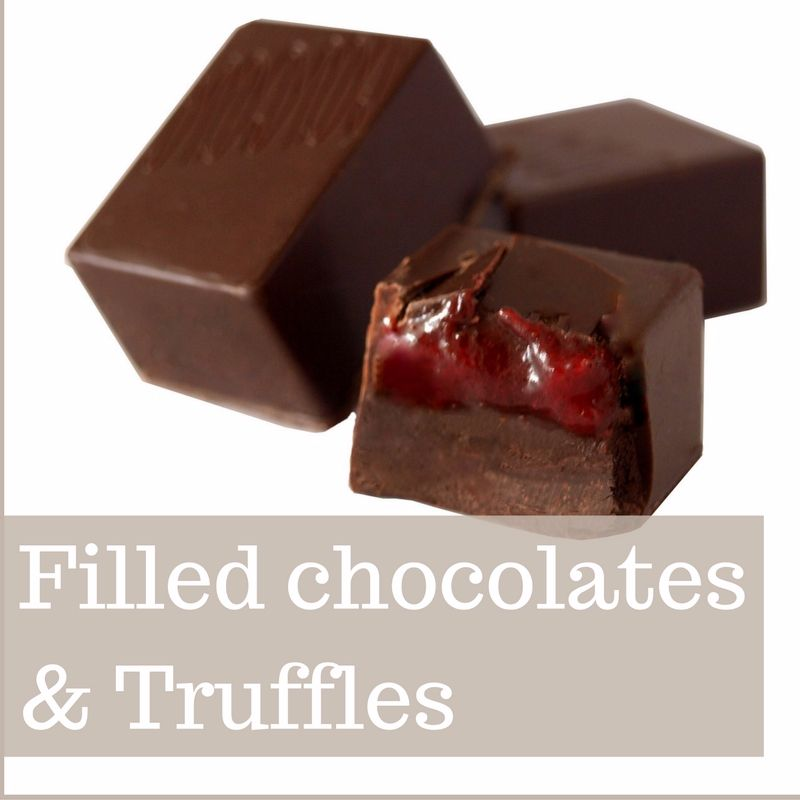<!--003-->FILLED CHOCOLATES &amp; TRUFFLES