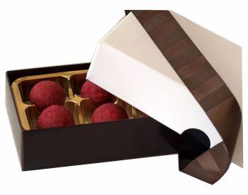 Yuzu - Raspberry Truffles