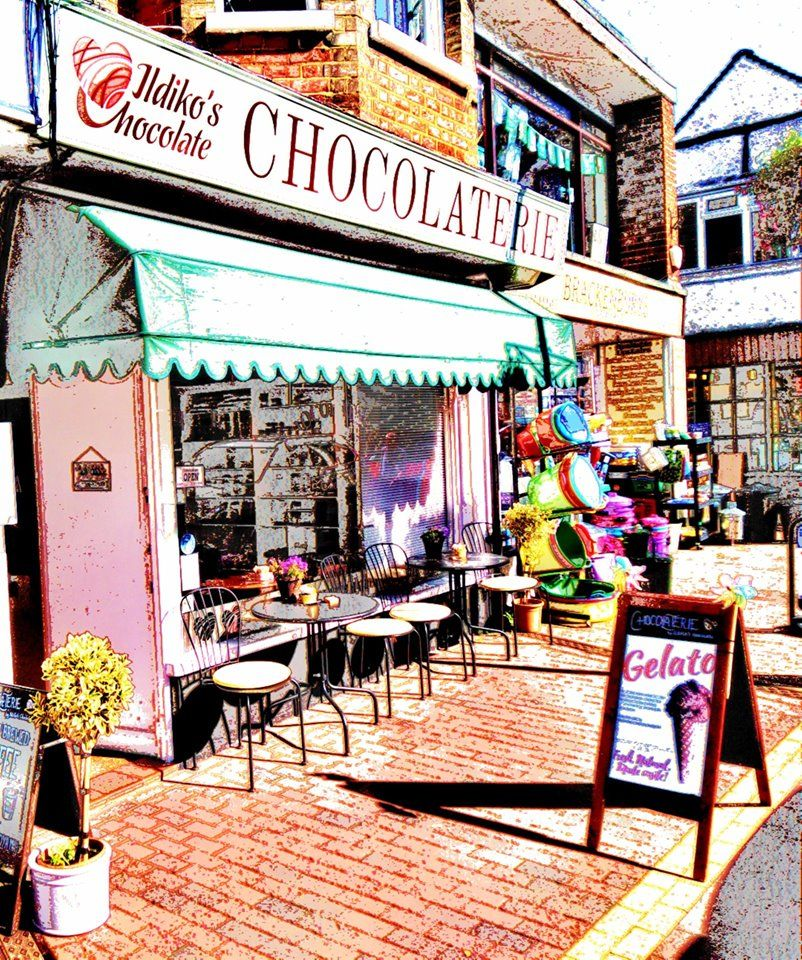 The most unique chocolate shop in Bookham , Surrey, England, UK