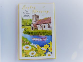 Easter Blessings -Pack of six cards and envelopes