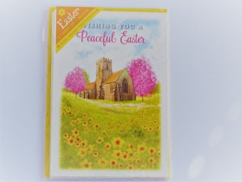 Wishing you a peaceful Easter  -Pack of five cards and envelopes