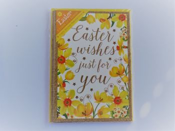 Easter wishes just for you  -Pack of five cards and envelopes