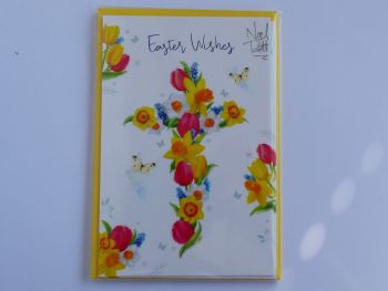 Easter Wishes - Pack of four cards and envelopes